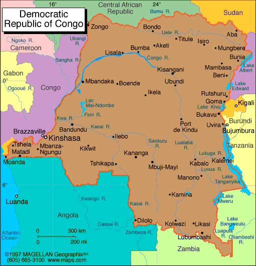 Congo Democratic Republic Africa business directory and news