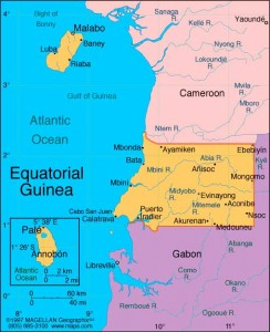 Equatorial Guinea Map