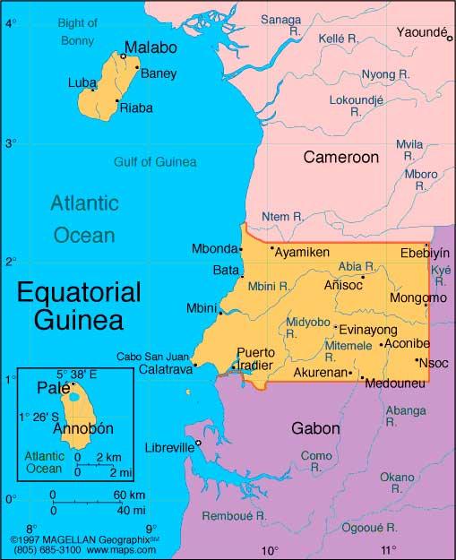 Equatorial Guinea Africa business directory and news