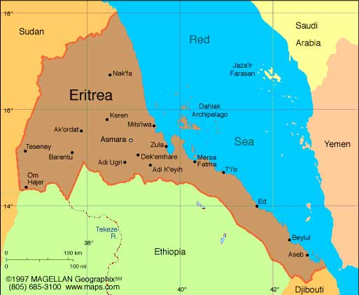 Eritrea Africa business directory and news