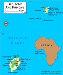 São Tomé & Príncipe Map