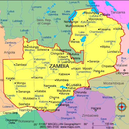 Zambia Africa business directory and news