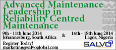 Advanced Maintenance Leadership in Reliability Centred Maintenance