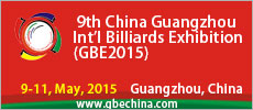 China Guangzhou International Billiards Exhibition 2015
