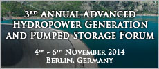 3rd Annual Advanced Hydropower Generation and Pumped Storage Forum
