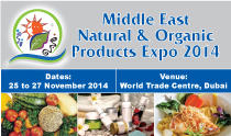 Middle East Natural & Organic Products Expo 2014