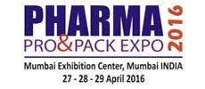 Pharma Pro & Pack Expo 2016