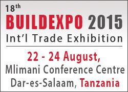 Buildexpo Tanzania 2015