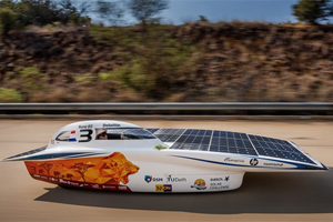 Driving SA on solar power