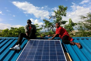 East Africa- Solar increasing economic activity in households