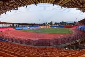 Renovated Abebe Bikila stadium